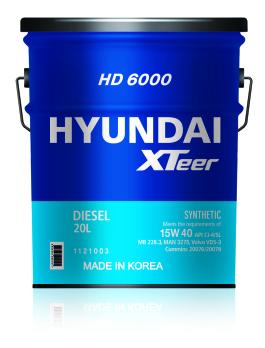 XTEER HD 6000 20W50